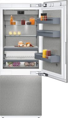 "400 Series Two-door Bottom Freezer With Fresh Cooling Close To 32 °f Fully Integrated Niche Width 30"" (76.2 Cm)"