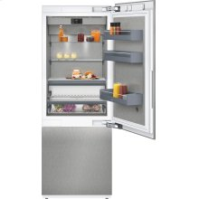 """400 Series Two-door Bottom Freezer With Fresh Cooling Close To 32 °f Fully Integrated Niche Width 30"""" (76.2 Cm)"""