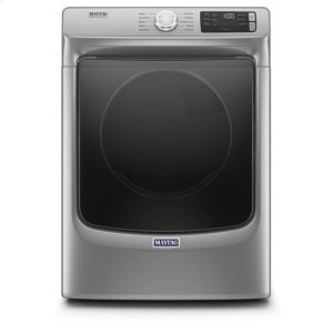 MaytagMaytag(R) Front Load Electric Dryer with Extra Power and Quick Dry cycle - 7.3 cu. ft. - Chrome Shadow