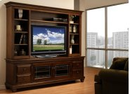 Florentino HDTV Cabinet with Hutch Product Image