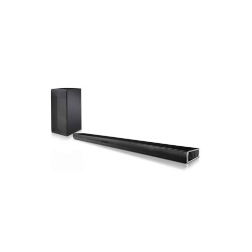 LG SK4D 2 1 Channel 300W Sound Bar with Wireless Subwoofer and Bluetooth®  Connectivity