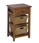 Tuscan Retreat® 2 Basket Stand - Antique Pine Product Image