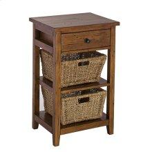 Tuscan Retreat® 2 Basket Stand - Antique Pine
