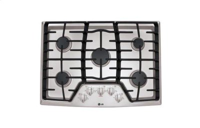 """30"""" Gas Cooktop with SuperBoil Product Image"""