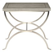 Marquesa End Table in Marquesa Gray Cashmere (359)