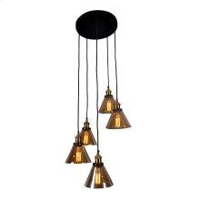 Marta Circular 5 Light Pendant Lamp