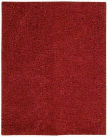 Zen Zen01 Red Rectangle Rug 7'6'' X 9'6''