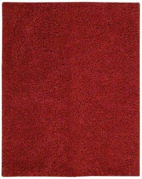Zen Zen01 Red Rectangle Rug 7'6'' X 9'6''