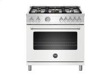 "36"" Master Series range - Gas oven - 5 aluminum burners"