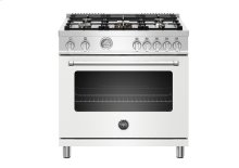 "36"" Master Series range - Gas oven - 5 aluminum burners"