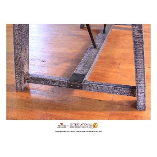 Wood Base with Iron