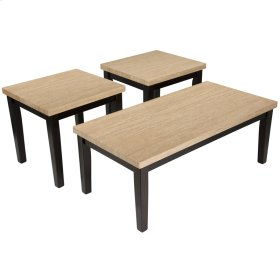 Signature Design by Ashley Wilder 3 Piece Occasional Table Set [FSD-TS3-53ES-GG]