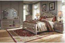 Birlanny - Silver 5 Piece Bedroom Set