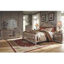 Birlanny - Silver 5 Piece Bedroom Set