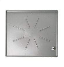 UNIVERSAL WASHING MACHINE FLOOR TRAY - METALLIC CARBON, LOW PROFILE
