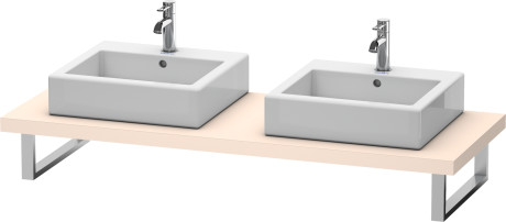 Console For Above-counter Basin And Vanity Basin, Vsg Picto White