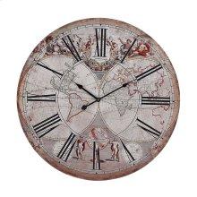 Renaissance Style Map Clock.