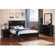 F4251 / Cat.19.p105- NIGHTSTAND BLK