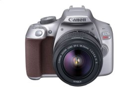 Canon EOS Rebel T6 EF-S 18-55mm f/3.5-5.6 IS II Lens Kit Gray Digital SLR Camera