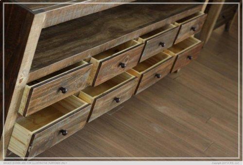 4 Drawers, 3 Shelves Pier