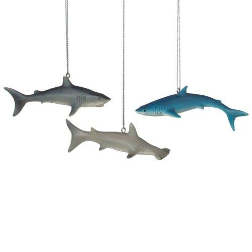 Shark Ornament (3 asstd).