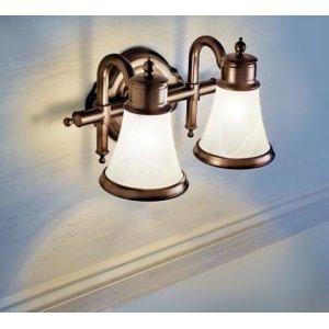 Waterhill chrome bath light