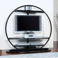 New World TV Stand with Post & Bracket