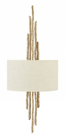 Champagne Gold Spyre Interior Wall Mount