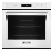 "30"" Single Wall Oven with Even-Heat True Convection - White"