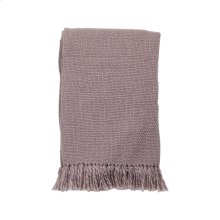 Hand Woven Maya Throw Lilac