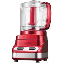 3-Cup Mini Food Processor (Red)
