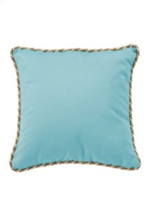 "20"" Square Throw Pillow w/ Cord Welt"