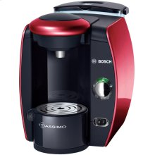 Tassimo Hot Beverage System Glamour Red