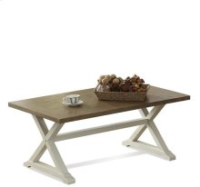 Framingham Large Coffee Table Sutton Place Gray/Nova White finish
