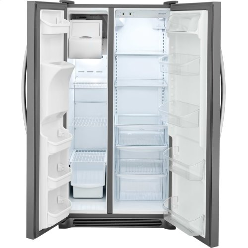 Crosley Side By Side Refrigerator - Black Stainless