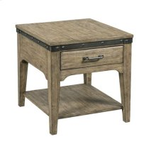 Artisans Rect Drawer End Table