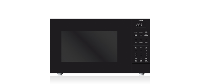 """Wolf24"""" Standard Microwave Oven"""