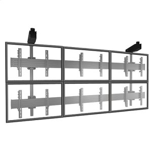 Chief ManufacturingFUSION Micro-Adjustable Large Ceiling Mounted 3 x 2 Video Wall Solutions