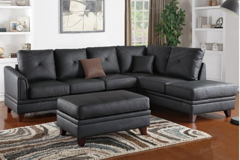 F6872 In By Poundex In Tampa Fl 2 Pcs Sectional Sofa