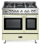 """Antique White 36"""" Dual Fuel Double Oven Range - 'N' Series Product Image"""