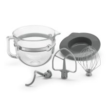 F-Series 6-Quart Glass Bowl Accessory Bundle - Other