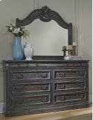 Mirror - Smokey Oak Finish Product Image