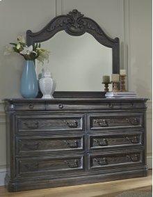 Mirror - Smokey Oak Finish