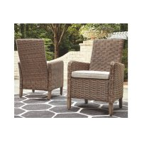 Arm Chair With Cushion (2/CN) Product Image
