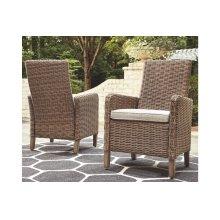 Arm Chair With Cushion (2/CN)