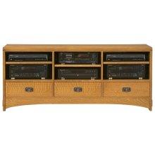"""Oak 62"""" TV Console"""