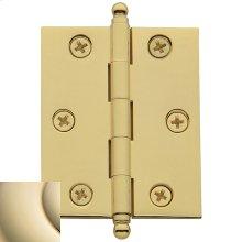 Lifetime Polished Brass Cabinet Hinge