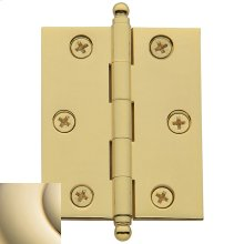 Lifetime Polished Brass Cabinet Hinge