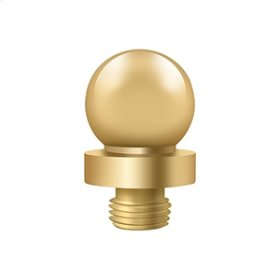 "Ball Tip for 6"" x 6"" Hinges - PVD Polished Brass"