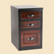 3 Drawer Console File Drawer